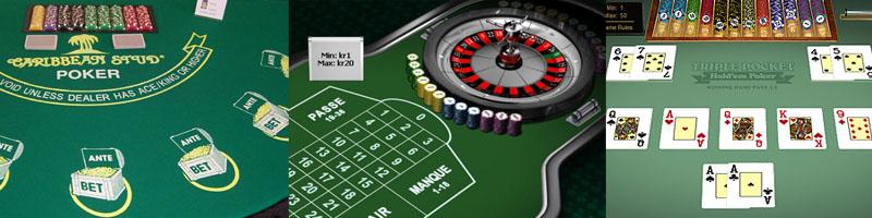 Casino Bordsspel - Spela Casino Bordsspel gratis